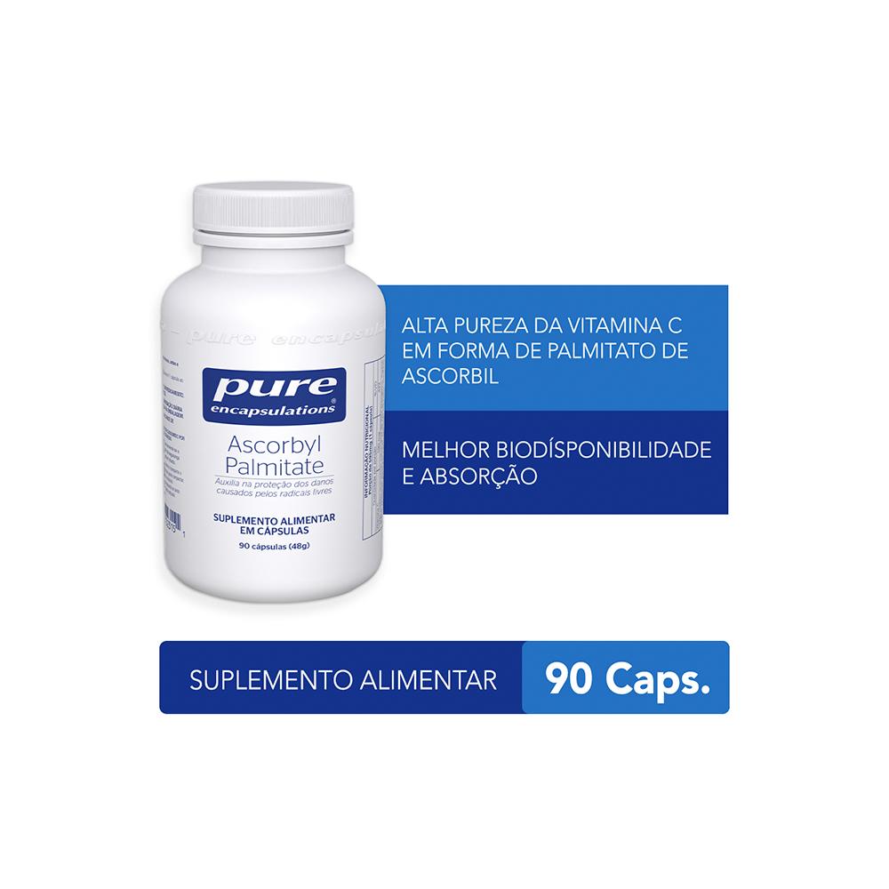 Palmitato de Ascorbila – Vitamina C – 90 cápsulas
