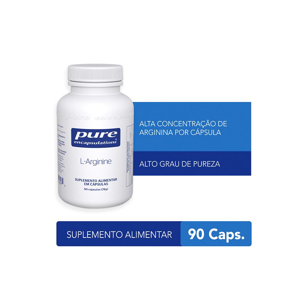 L-Arginina – 90 cápsulas