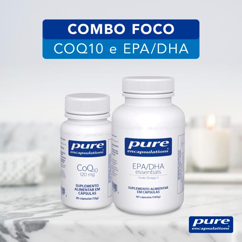 COMBO FOCO - CoQ10 e EPA/DHA Essentials