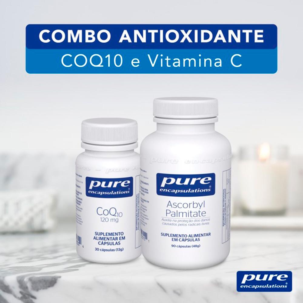 COMBO ANTIOXIDANTE - CoQ10 e Palmitato de Ascorbila
