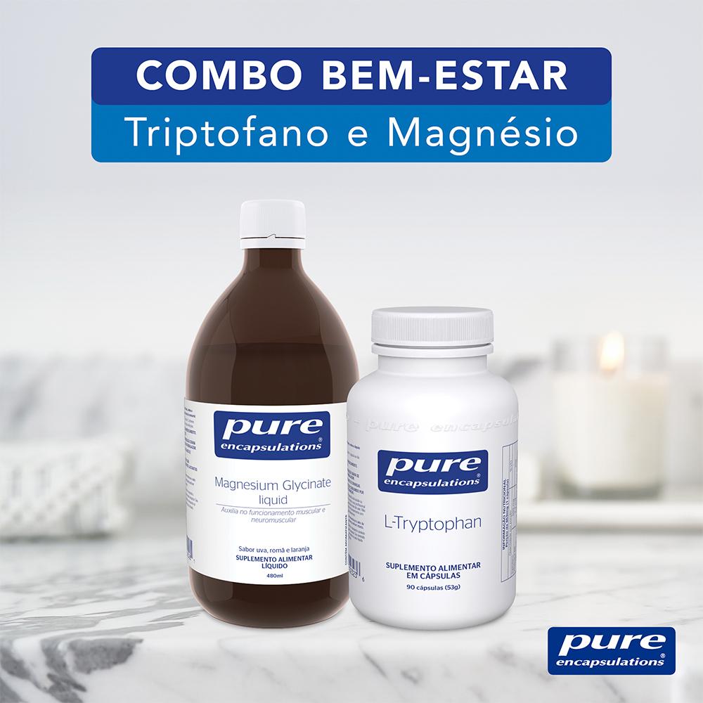 COMBO BEM-ESTAR - Triptofano e Magnésio
