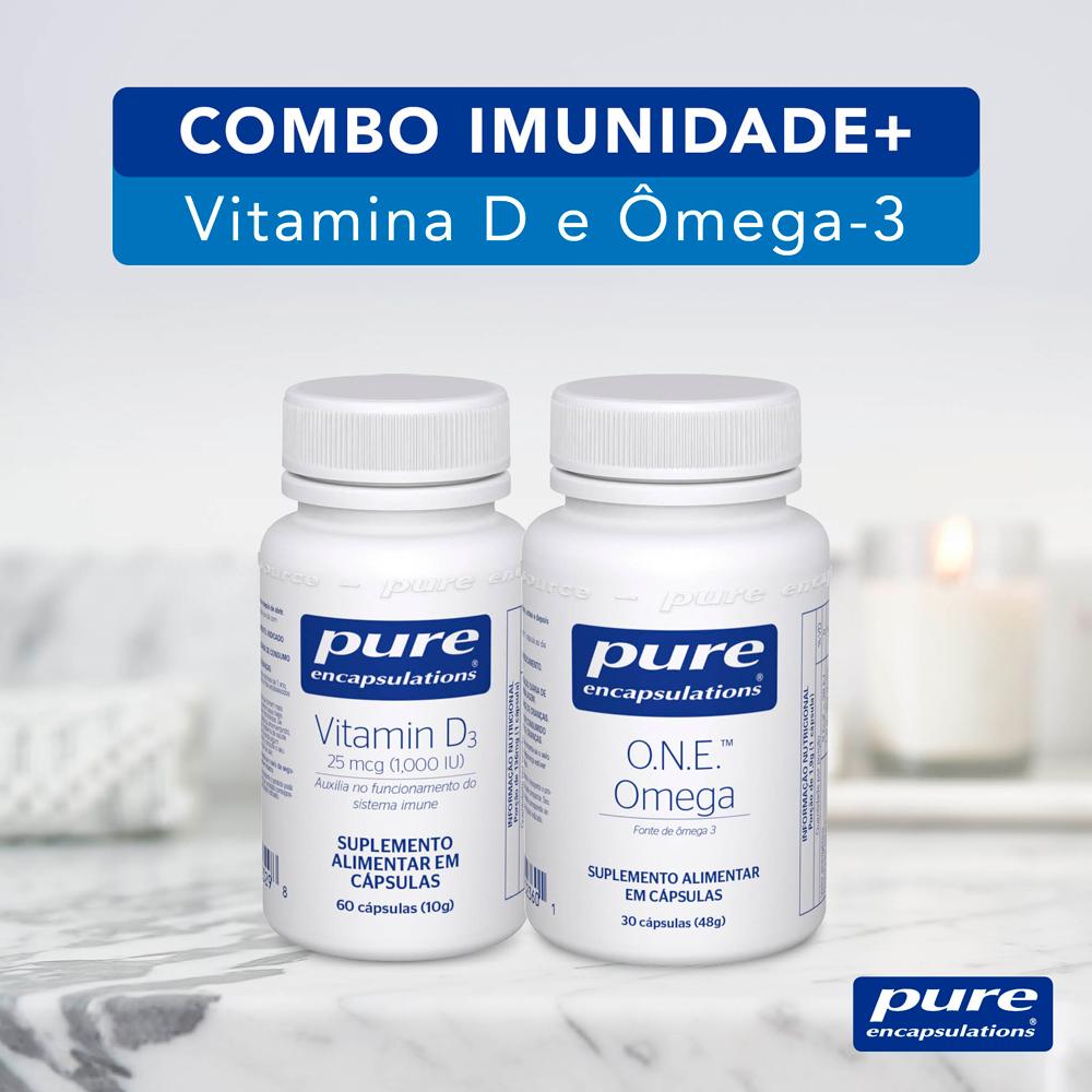 Combo Imunidade + - Vitamina D3 e ONE Omega