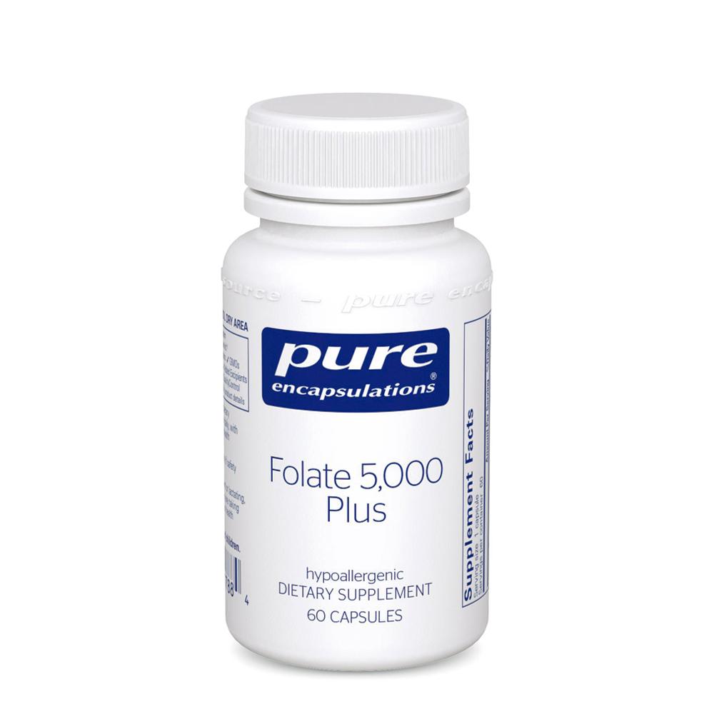 Folate 5,000 Plus 60's