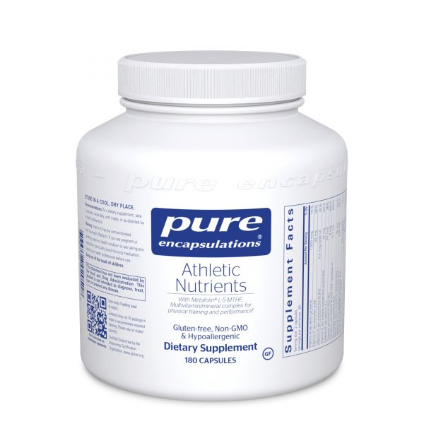 Athletic Nutrients 180s