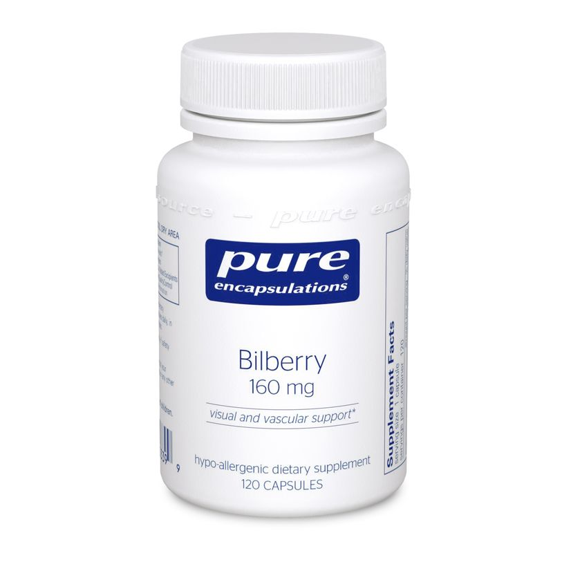 Bilberry 160 mg 120s